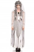 Costume donna sposa cadavere o fantasma