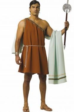 Costume antico romano uomo o greco qualita' teatrale.