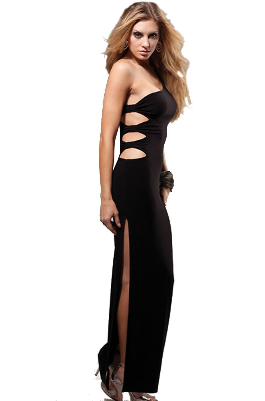 7c1c16667e58 abito da sera donna lungo nero gala anni 40 Born in Hollywood Forplay