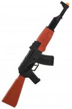 Fucile mitragliatore AK47 Kalashnikov GIOCATTOLO in plastica 63cm