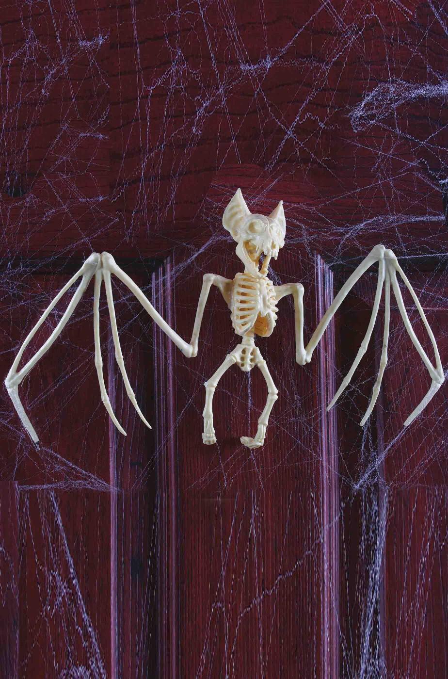Scheletro di Pipistrello decorazione halloween largo 42 cm