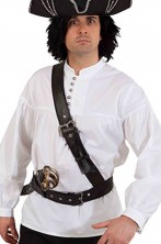 Cinturone a bandoliera da pirata