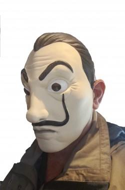 Maschera Salvator Dali della Casa di Carta Netflix adulto IN LATTICE