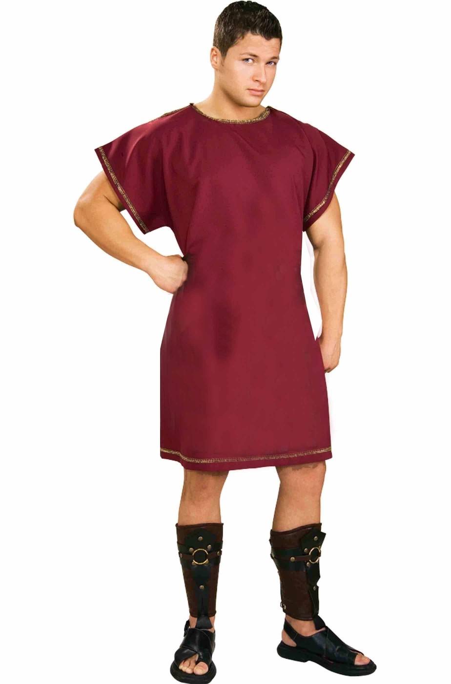 Tunica rossa antico romano o medievale