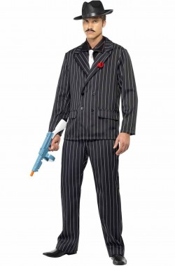 Costume uomo Gangster