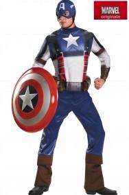 Costume Capitan America Adulto De Luxe CIVIL WAR