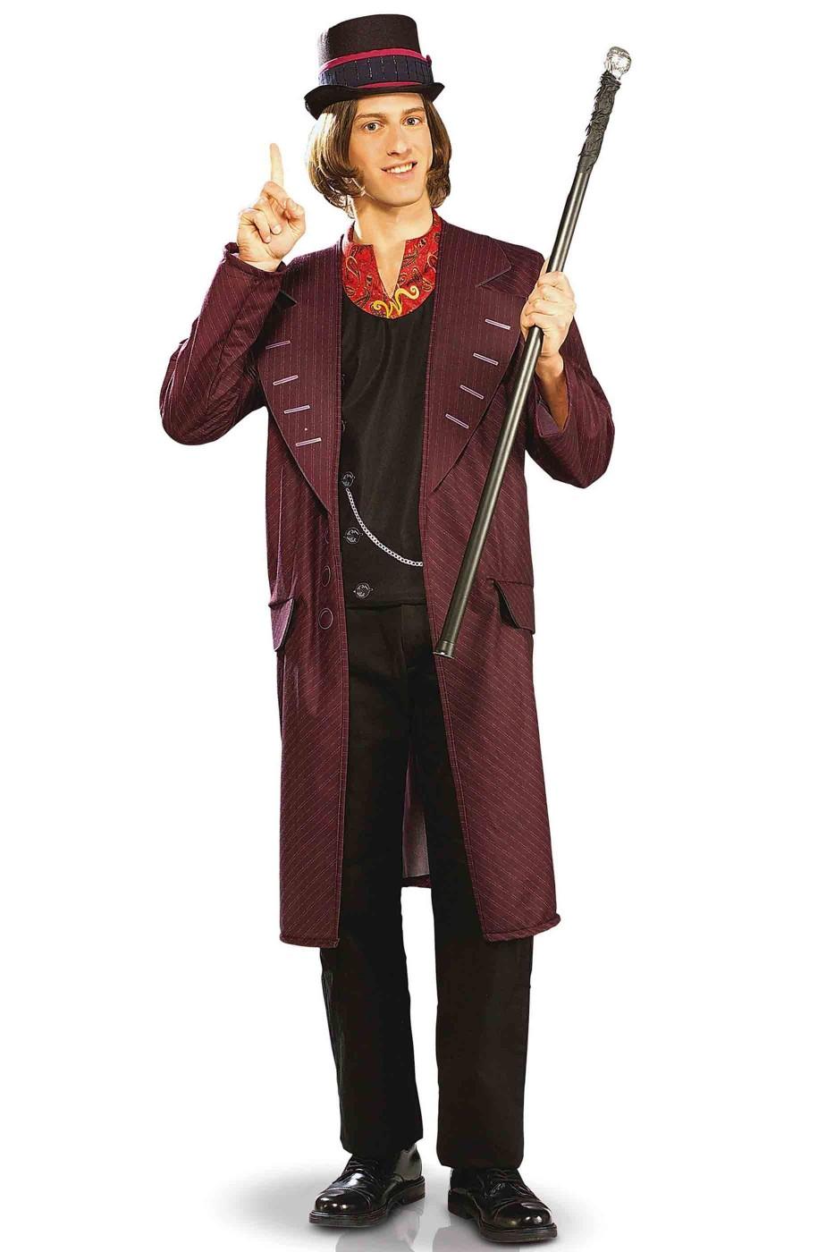 Costume Willy Wonka dal film La Fabbrica di Cioccolato