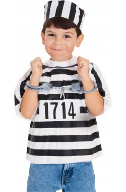 Set detenuto, carcerato o prigioniero bambino