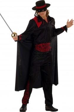 Costume carnevale adulto Zorro