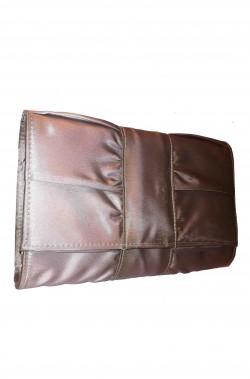 Borsa o borsetta pochette anna cecere grigia