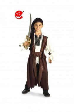 Costume carnevale Bambina Piratessa dei sette mari