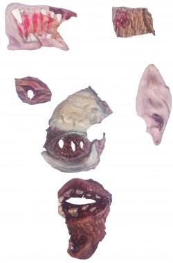 FX trucco halloween rimanenze di lavorazione makeup