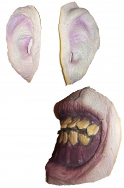FX trucco halloween bocca e orecchie mostro