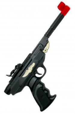 Pistola giocattolo ad aria compressa a caricamento a leva spara pallini di plastica