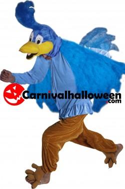 Costume Bip Bip roadrunner adulto