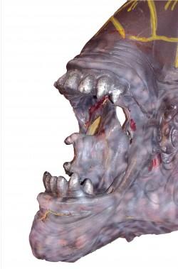 FX trucco halloween bocca alien in lattice per scenografie