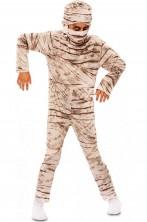 Costume Halloween da bambino mummia