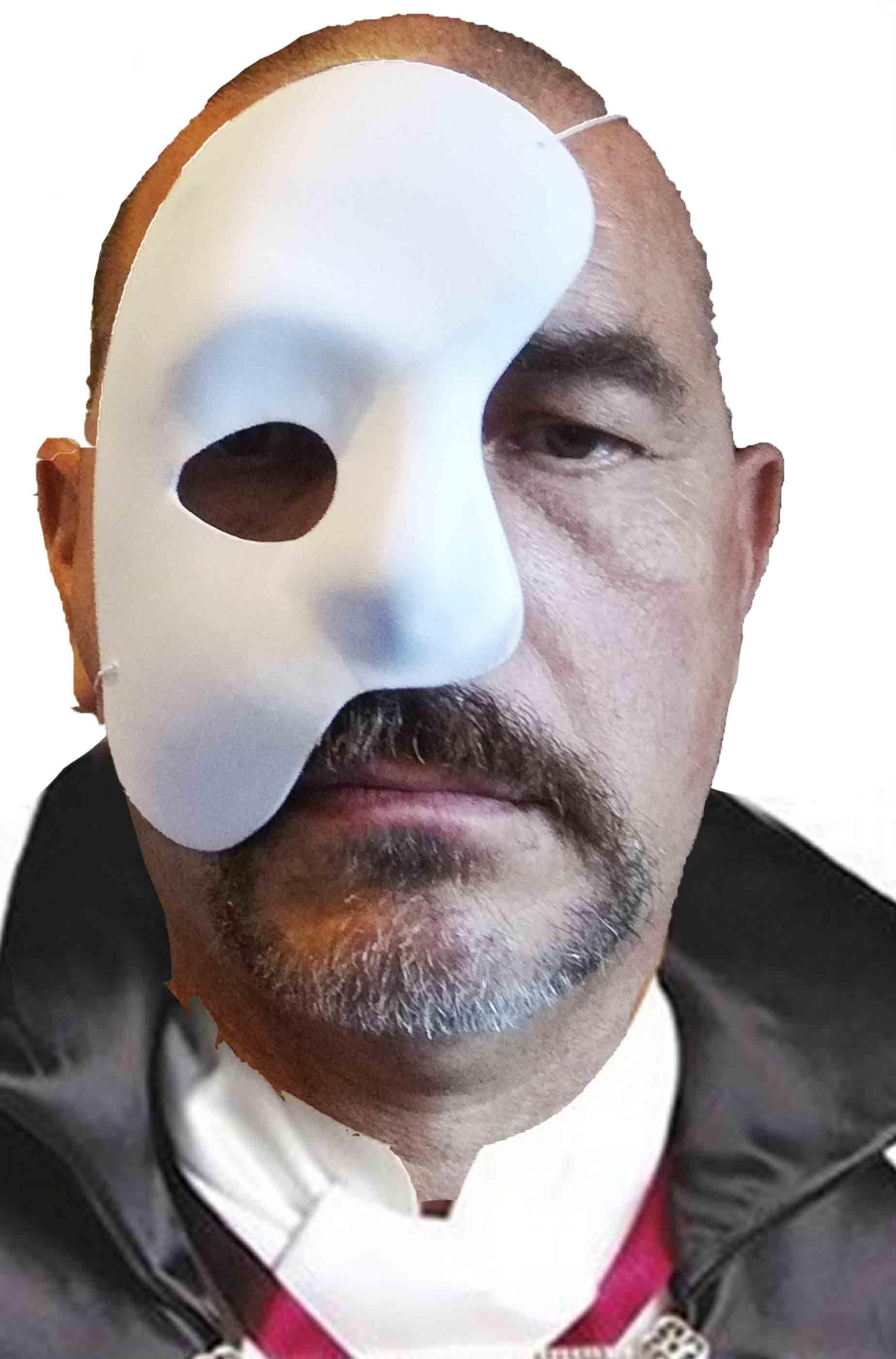 maschera mezzo viso bocca