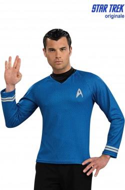 Star Trek maglia Primo ufficiale Spock o Mc Coy con stampa a nido d'ape