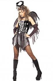 Costume donna Angelo Nero.