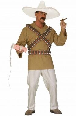 Costume di Carnevale da uomo da messicano solo costume