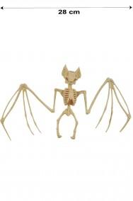 Scheletro di Pipistrello decorazione halloween largo 28 cm