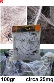 Decorazioni Halloween da appendere scheletri di pipistrello e ragno