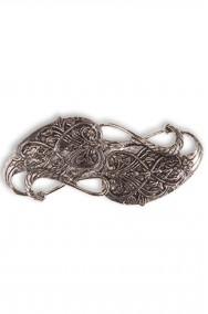 Spilla di Gandalf il Bianco in metallo per Cosplay