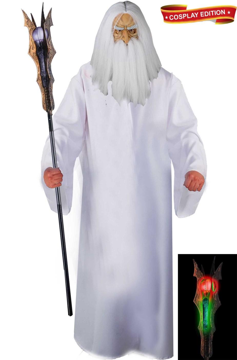 Costume adulto di Saruman Il Signore degli Anelli