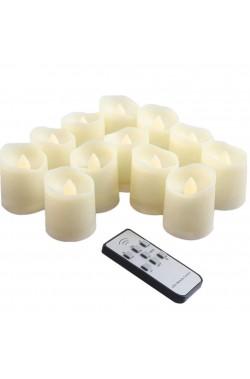 Candele lumini per halloween a batterie (non incluse)