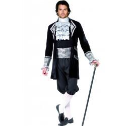 Costume uomo cavaliere veneziano del 700 o vampiro