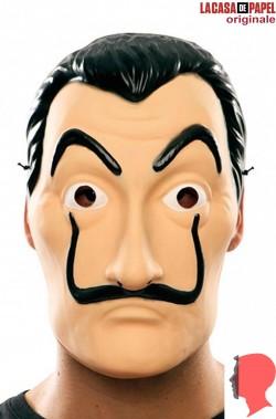 Maschera Salvator Dali della Casa di Carta Netflix adulto economica