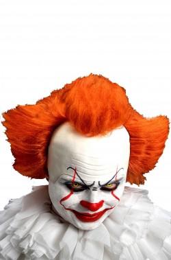Parrucca Clown IT nuova versione con calotta capelli rossi