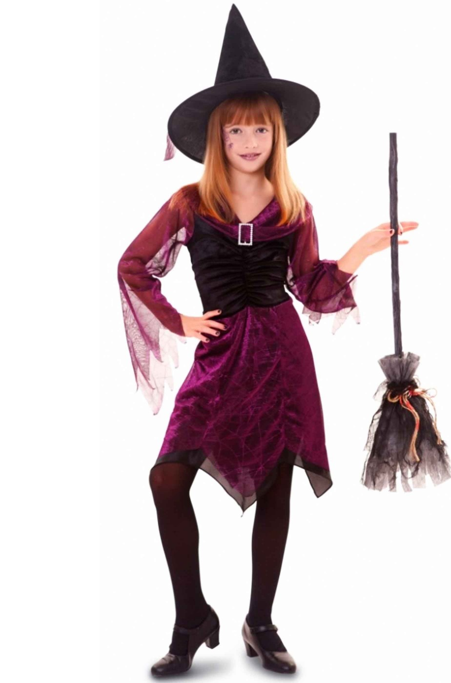 Costume carnevale Bambina Strega elegante