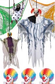 Allestimento Halloween scenografia Circo dell'Orrore