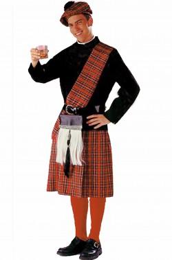 Costume di Carnevale da scozzese uomo