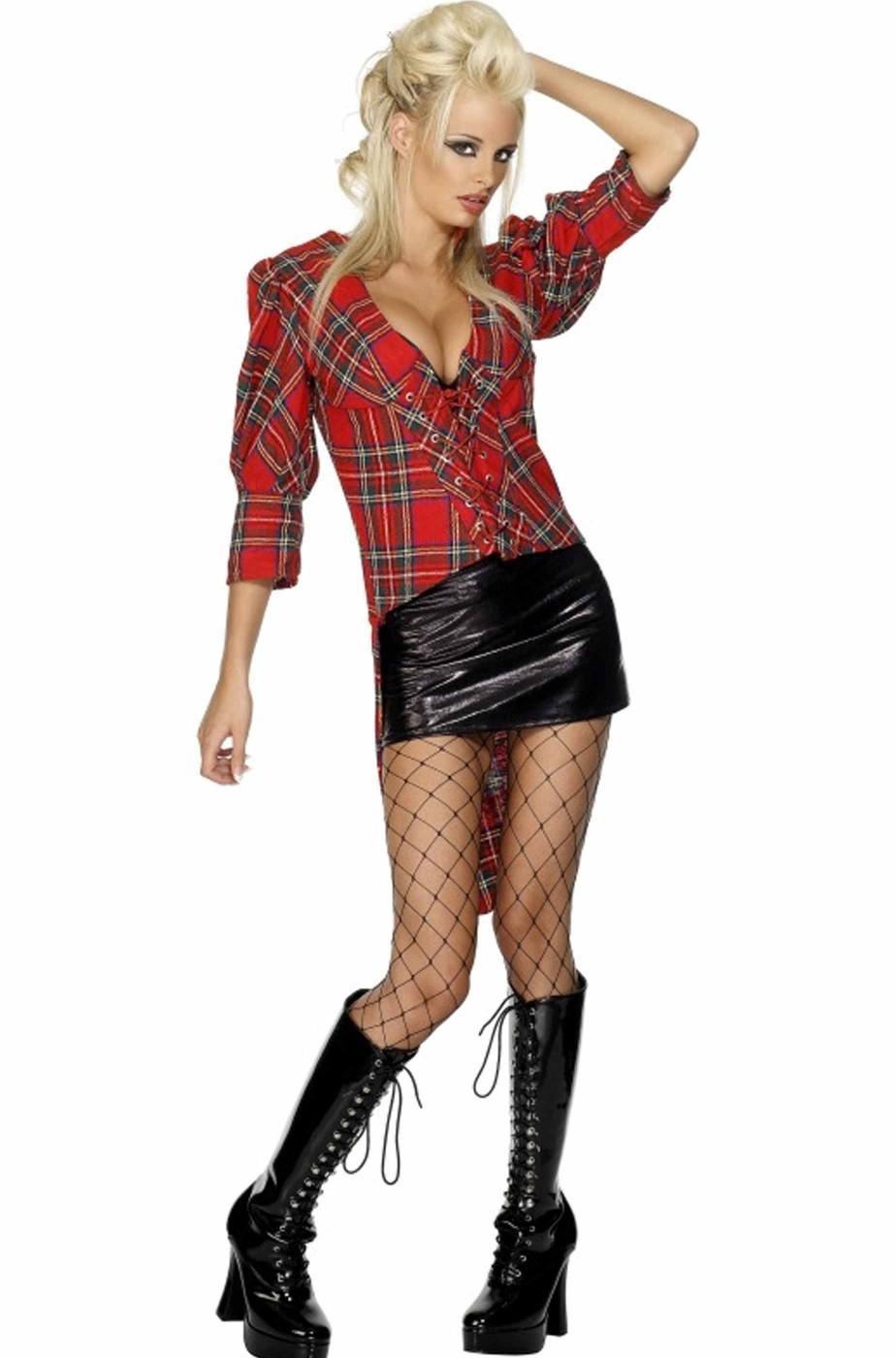 Costume donna scozzese celtica