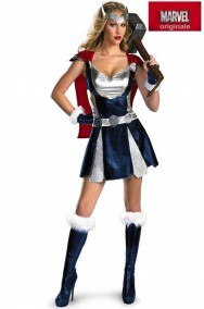 Costume donna Thor sexy Dal Film The Avengers