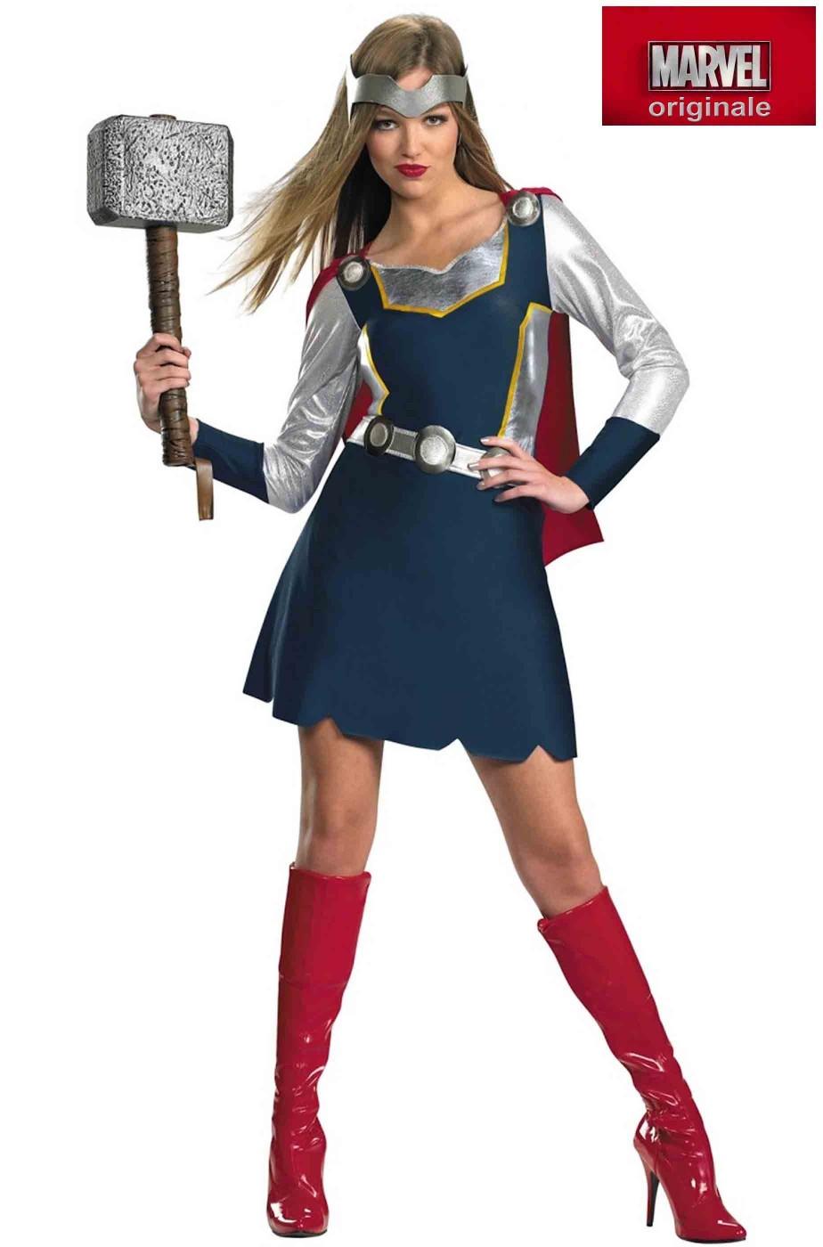 Costume donna Thor Dal Film The Avenger