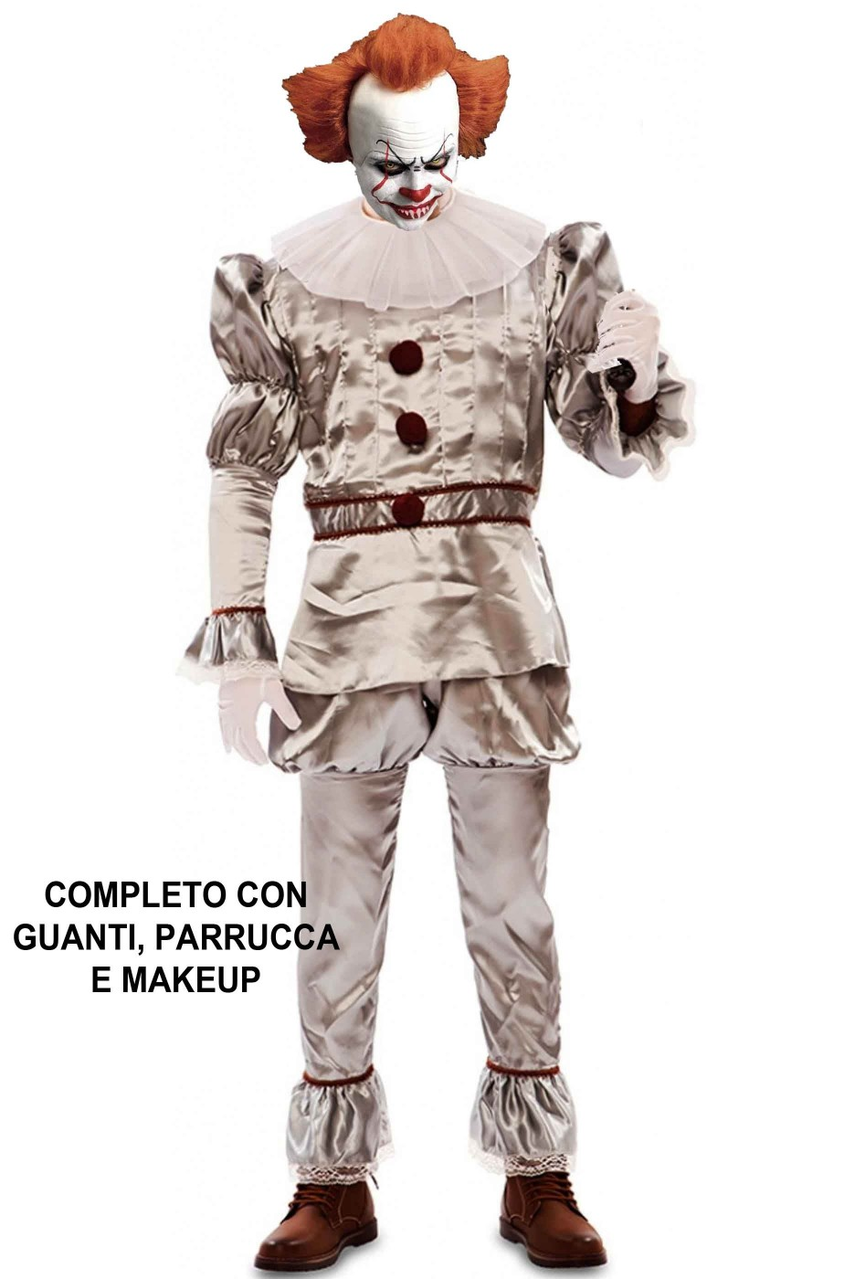 Clown Horror Costume di IT Pennywise 2017 adulto