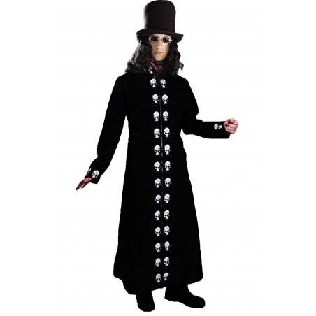 Cappotto gotico dark per Baron Samedi, Becchino, licantropo, vampiro