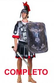 Costume uomo soldato antico romano centurione completo