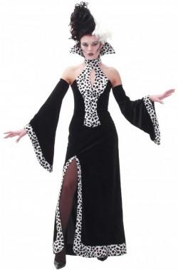 Costume donna Crudelia Demon classica