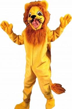 Costume di Carnevale Mascotte Adulto Alex il Leone