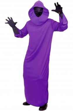 Costume adulto fantasma spirito della notte uomo