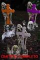 Decorazione da giardino Cimitero completo Halloween pronto all'uso