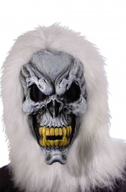 Maschera yeti lusso