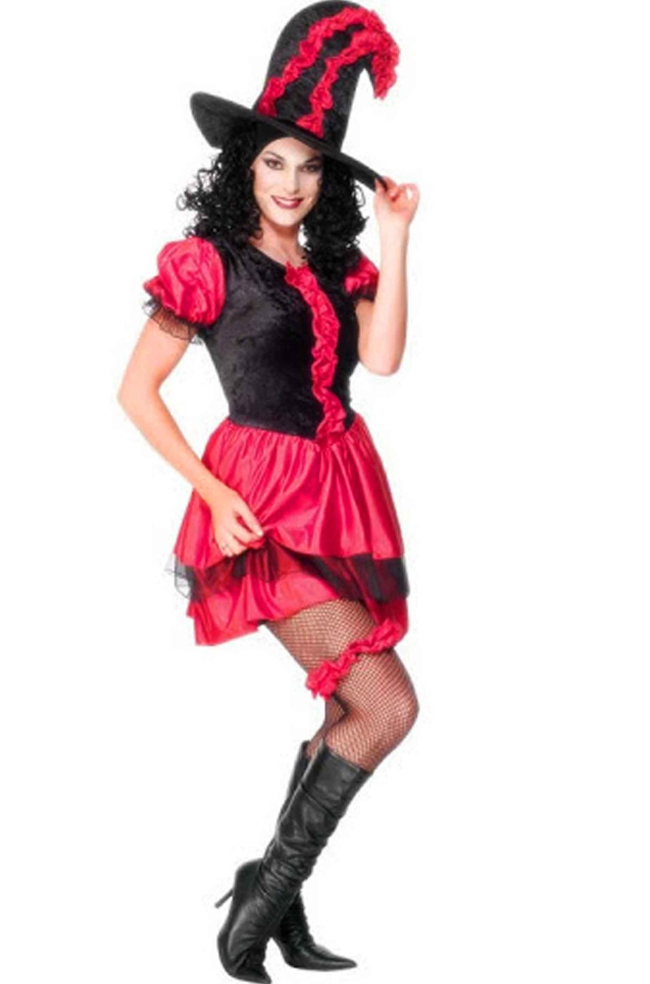 Red Showgirl Donna Burlesque Costume Da Donna Western Saloon Can Can Costume