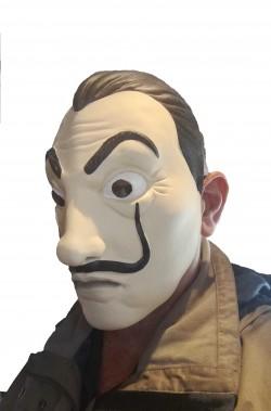 Costume tuta rapinatore della Casa di Carta Netflix adulto maschera De Luxe
