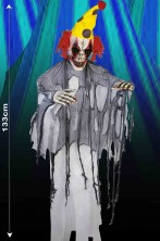 Clown Horror da appendere alto 133cm